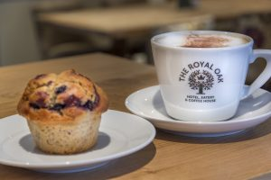 Royal Oak_Coffee and muffin
