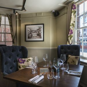 Dining at The Royal Oak in Welshpool